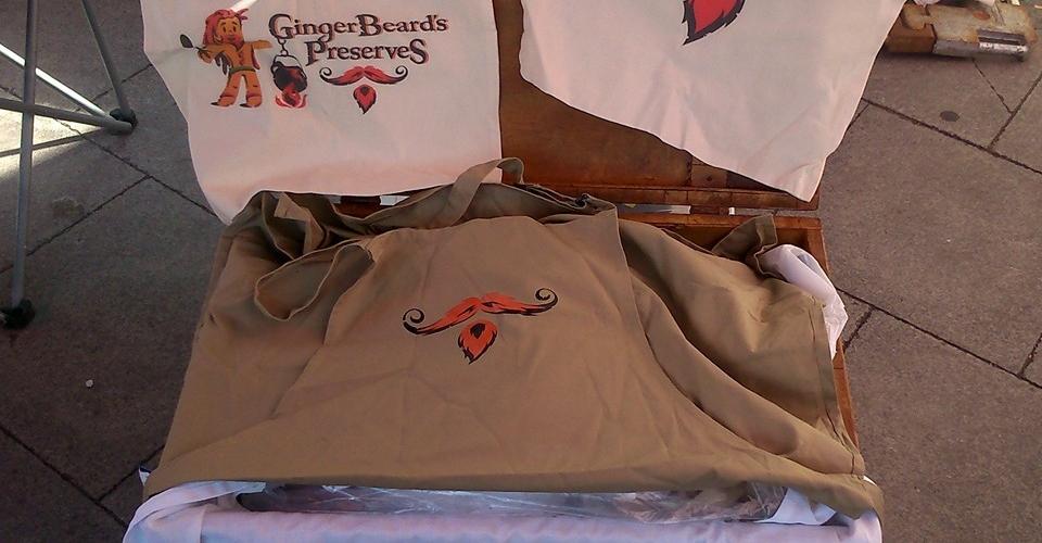 GingerBeard's Preserves Merchandise