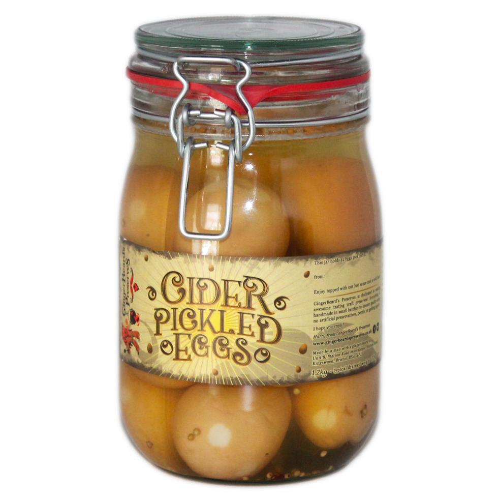 Cider Pickled Eggs