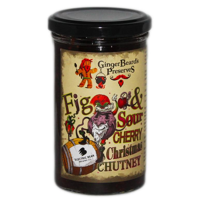 Fig & Sour Cherry Christmas Chutney