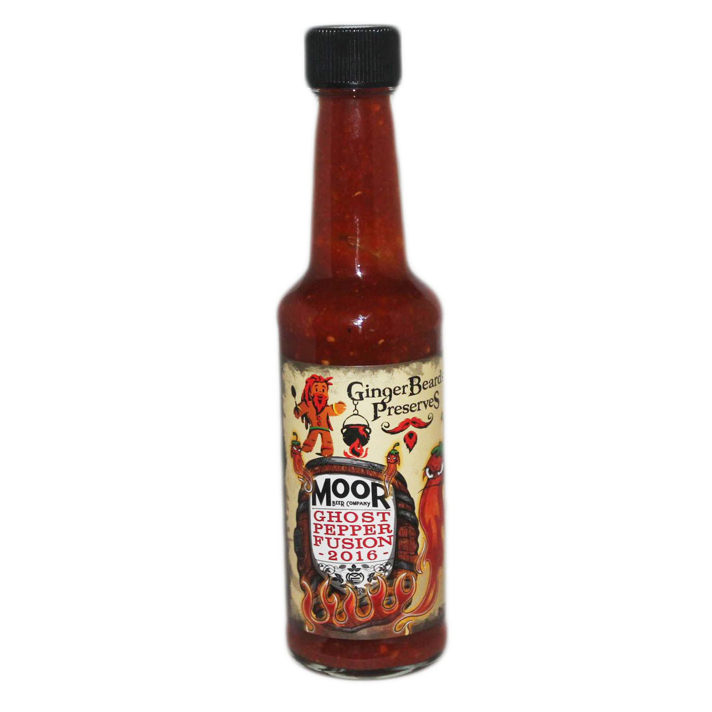 Moor Ghost Pepper Fusion Hot Sauce