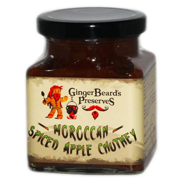 Moroccan Spiced Apple Chutney